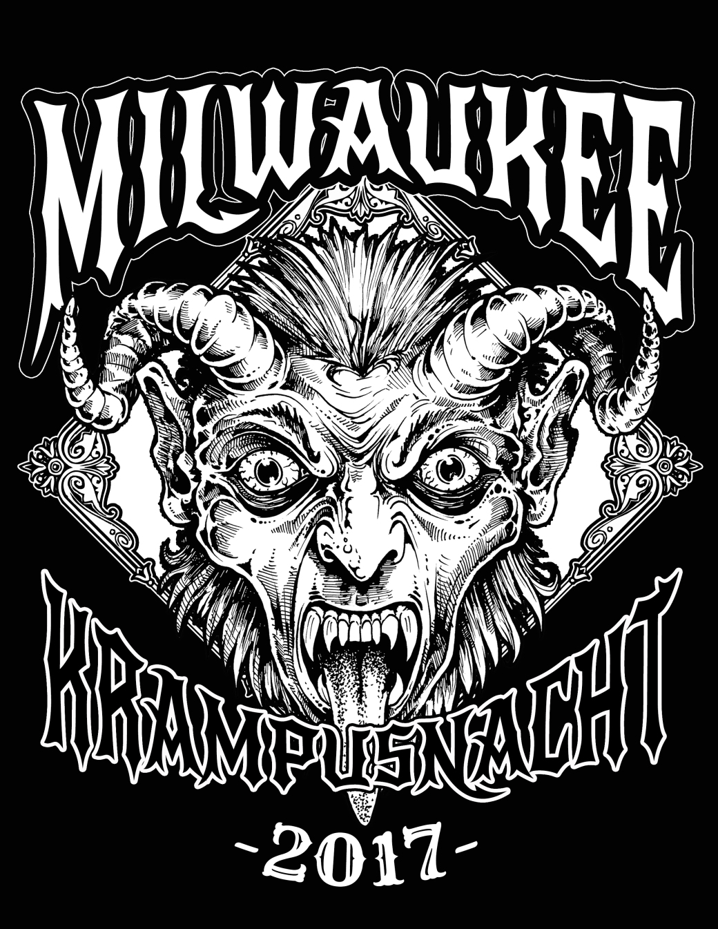Pre Order Your Milwaukee Krampusnacht T Shirt Now Milwaukee